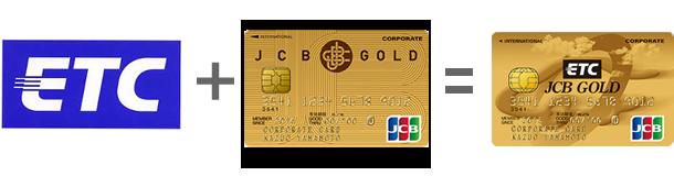 ETCとゴールドカードが一体に