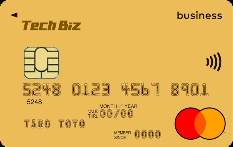 Tech bizカード券面